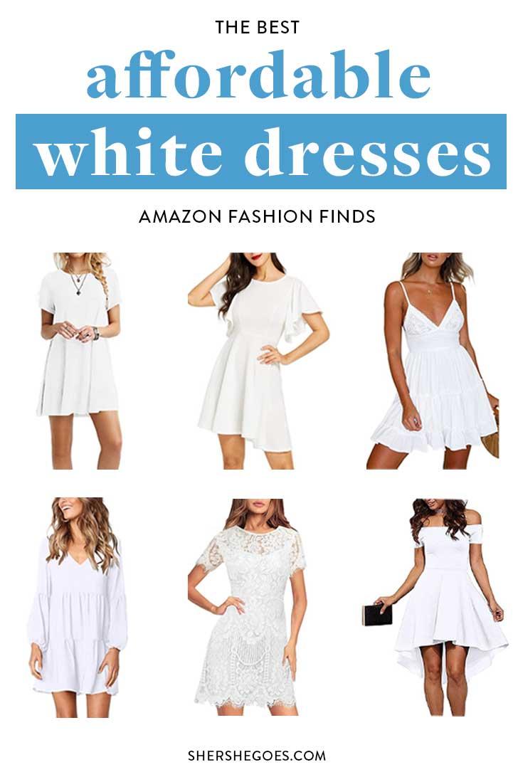 Affordable-White-Dresses-Amazon