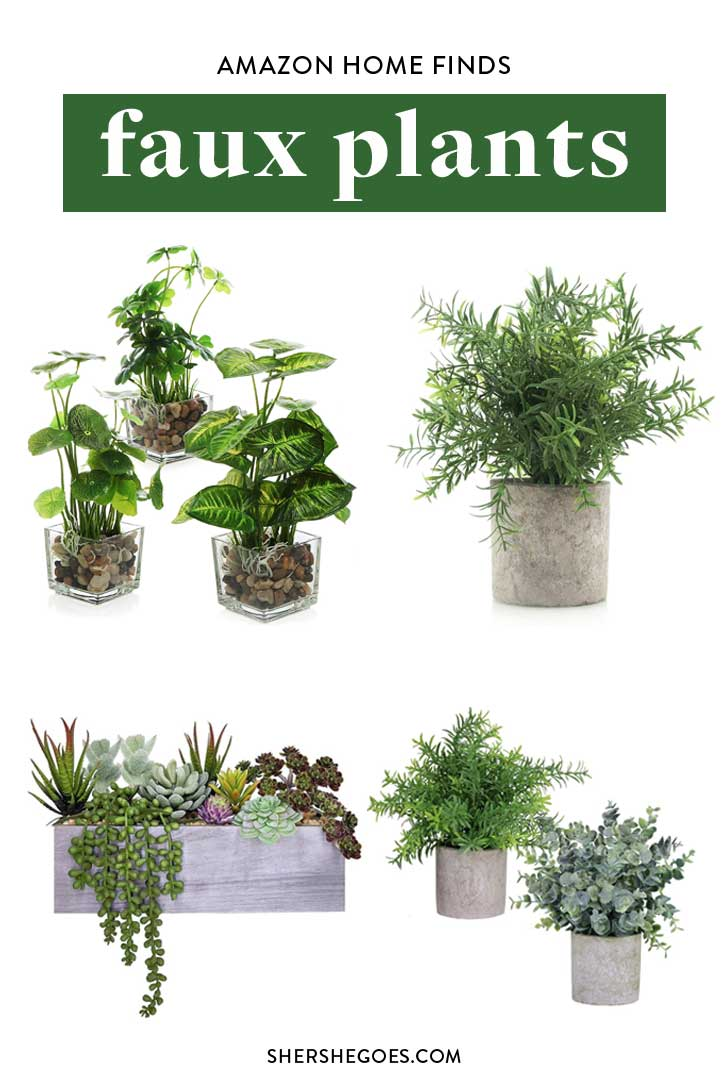 Amazon-Best-Faux-Plants
