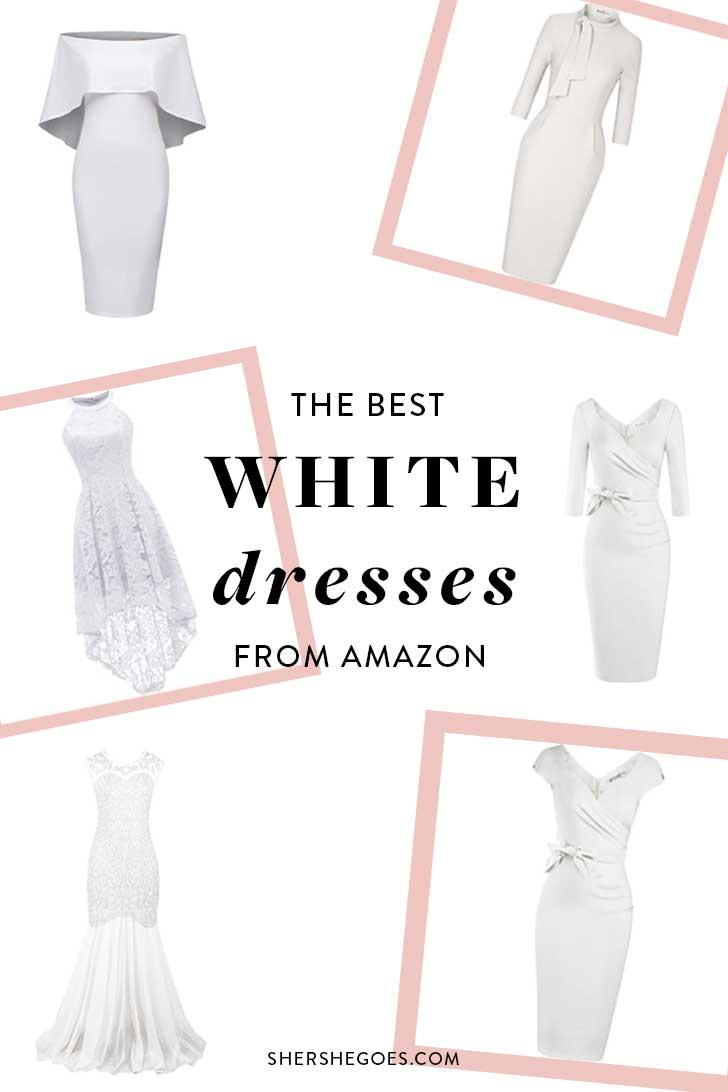 Amazon-Best-White-Dresses