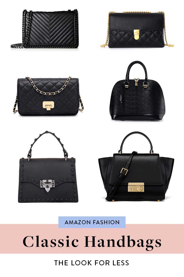 Amazon-Designer-Inspired Black-Handbags