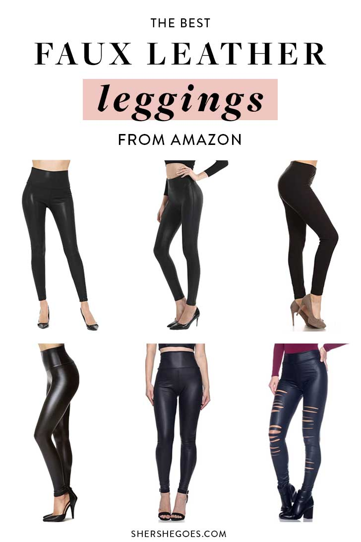 Amazon-Fashion-Finds-Best-Leather-Leggings