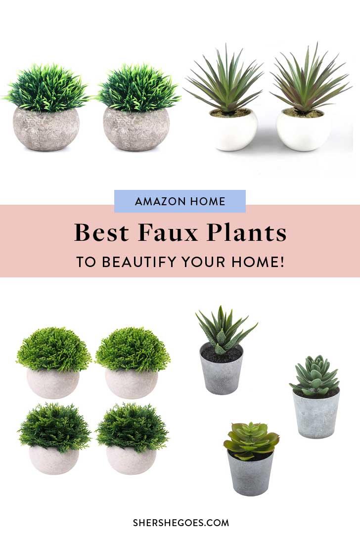 Amazon-Home-Faux-Plants