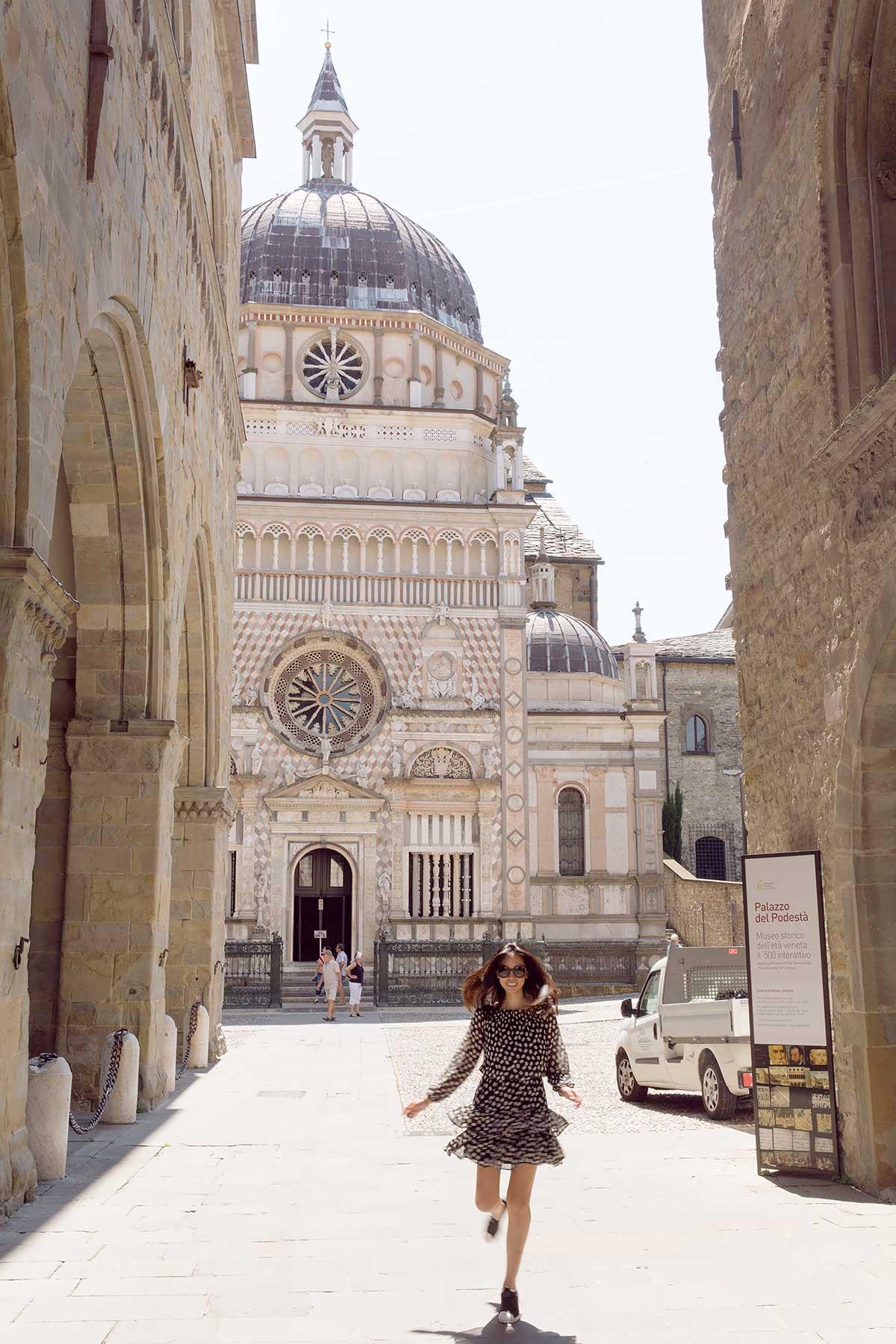 Bergamo Italy Lombardy Town