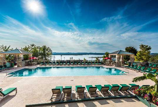Best Hotels in Branson MO Chateau on the Lake