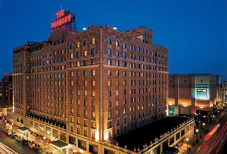 Where to Stay in Memphis TN Peabody Hotel