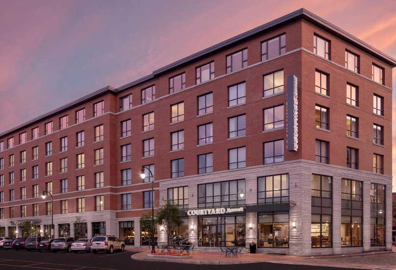 Best Hotels In Portland Maine Courtyard Marriott