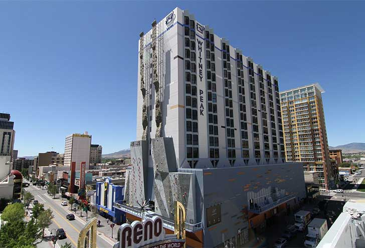 Best Hotels in Reno Nevada Whitney Peak