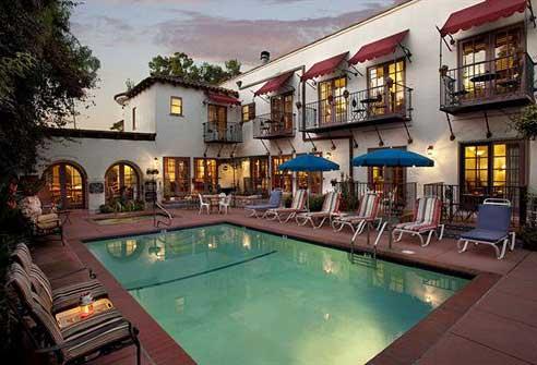 Best Hotels in Santa Barbara CA Castillo Inn