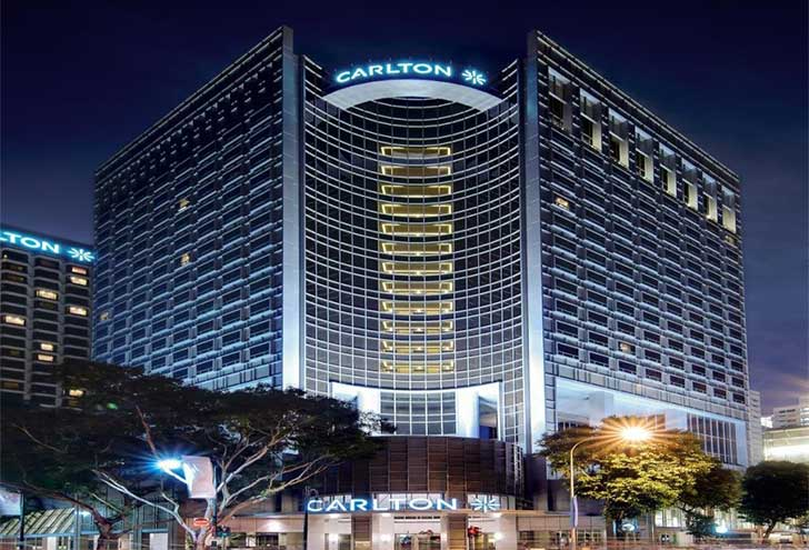 Best Hotels in Singapore Carlton Hotel