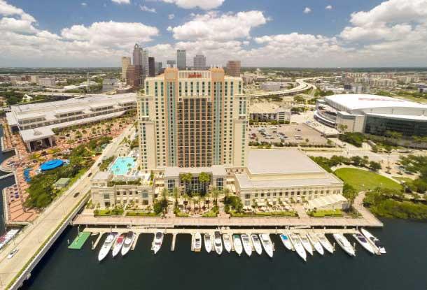 Best Hotels in Tampa FL Marriott Waterside Hotel
