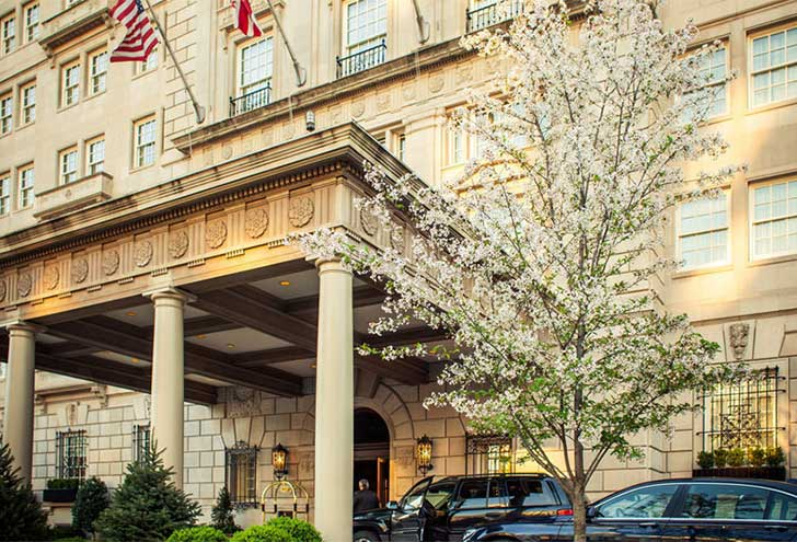 Best-Hotels-in-Washington-DC-Hay-Adams Hotel
