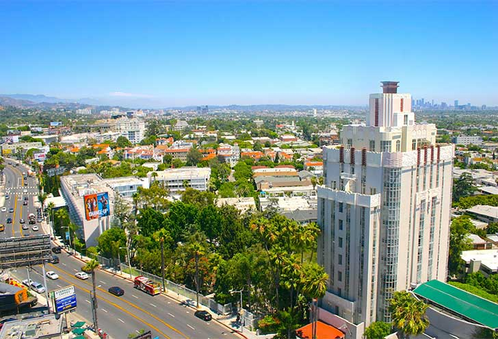 Best Hotels in West Hollywood Sunset Tower