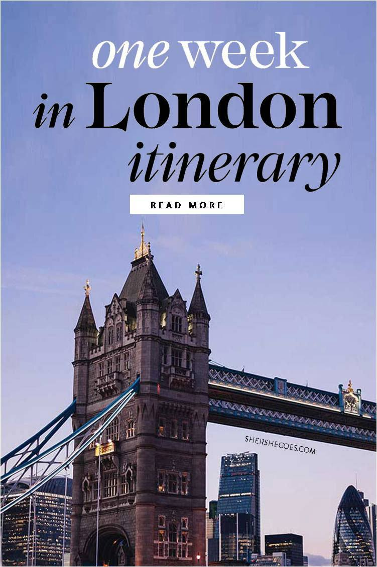 Best London Itinerary travel guide