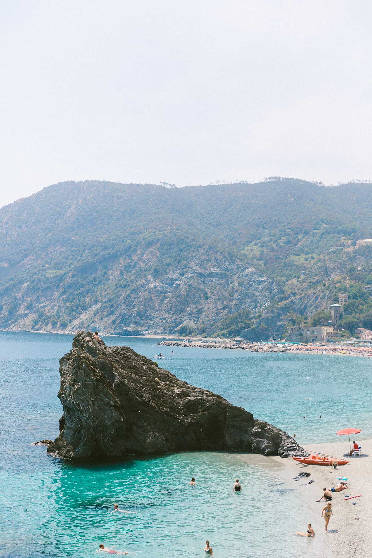 All the best beaches in cinque terre italy
