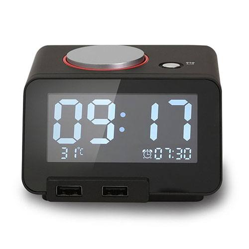 Best Travel Alarm clock Homtime Multi function Alarm Clock
