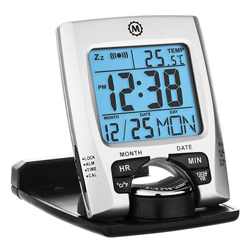 Best Travel alarm clock Marathon Travel Alarm Clock