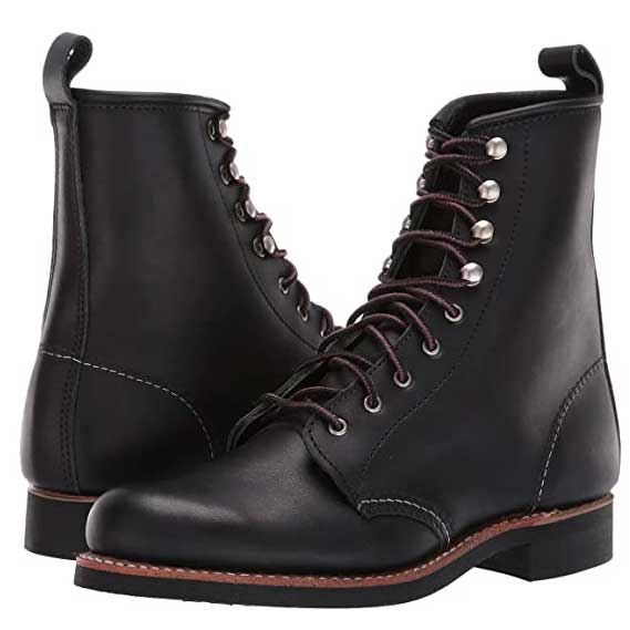 Black-Combat-Boots-Red-Wing