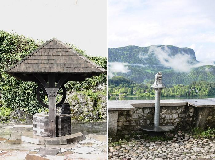 Eastern Europe Lake Bled Travel Tourist Scenic Hiking Church Island Telescope Well Rustic Village Romantic