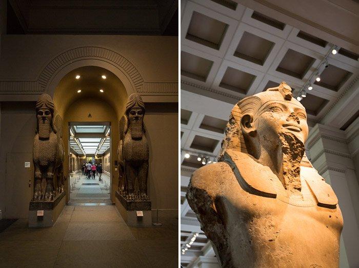 egyptian mummy statue egypt wing