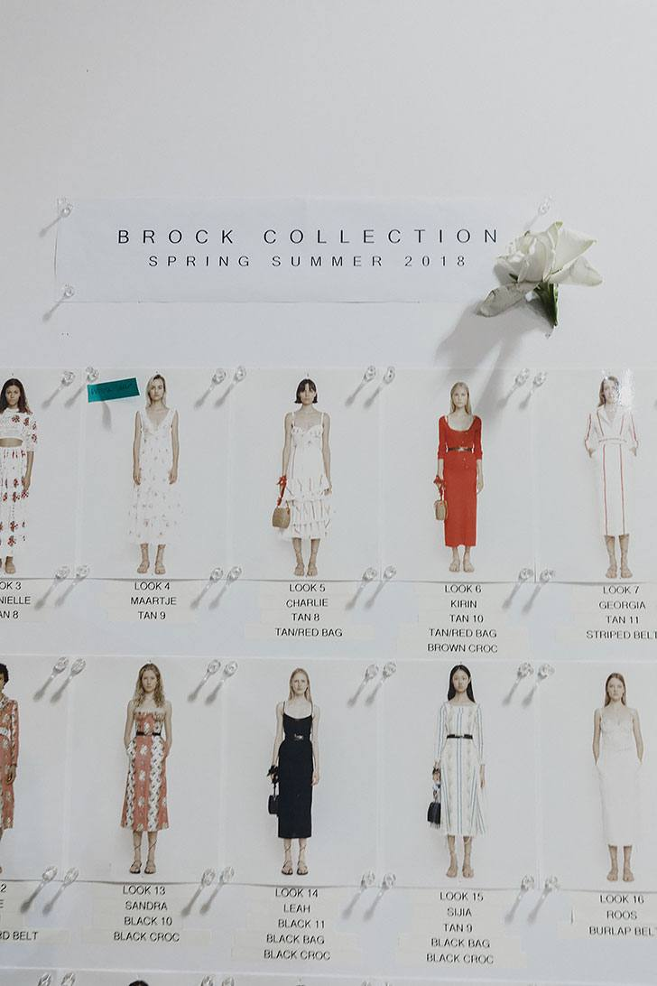 NYFW September 2017 Brock Collection SS 2018