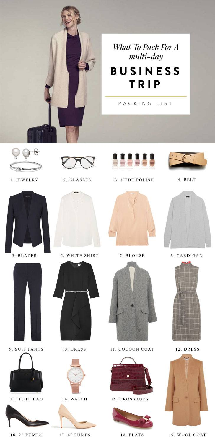 Here S Your Essential Business Trip Packing List
