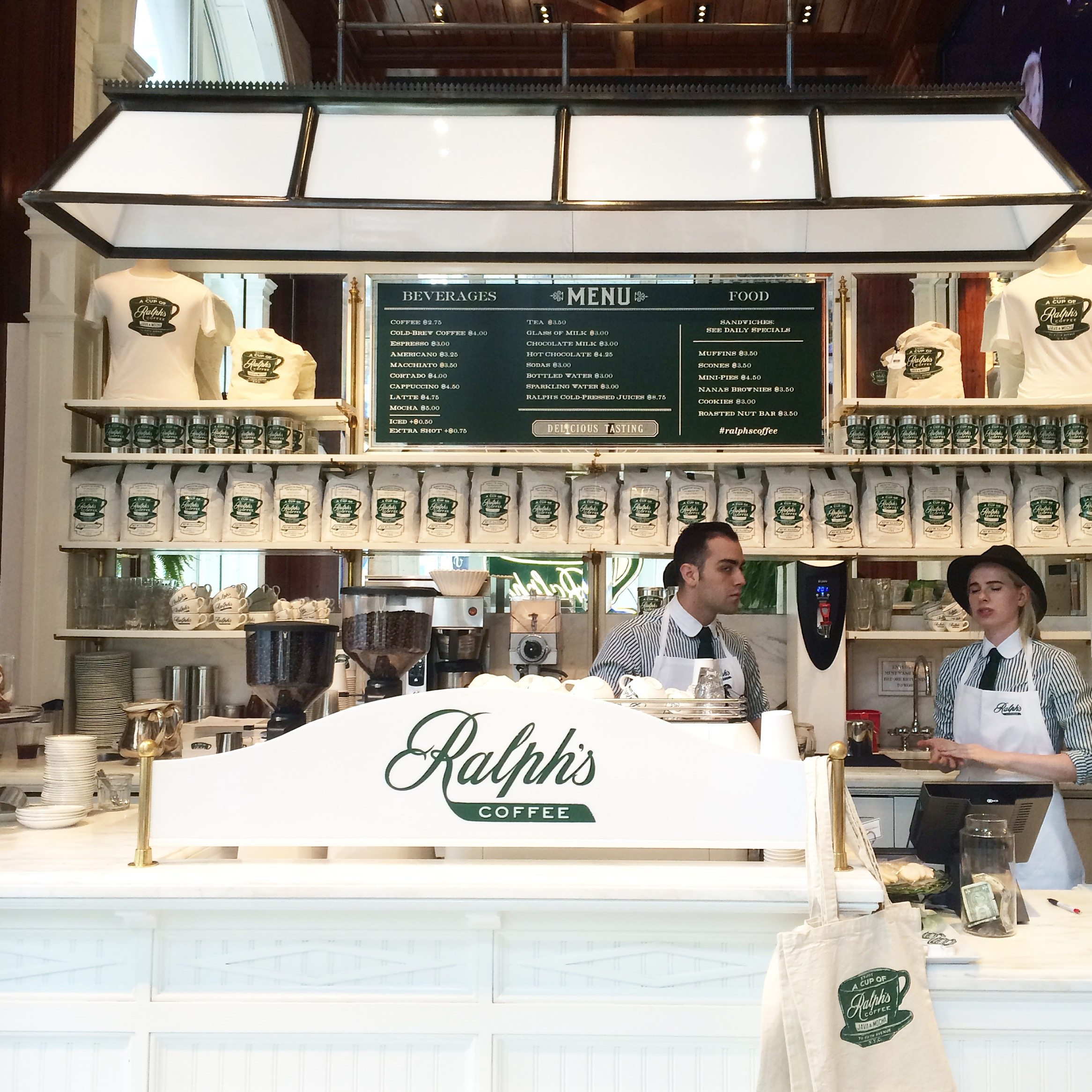 NYC Coffee Guide - Ralphs