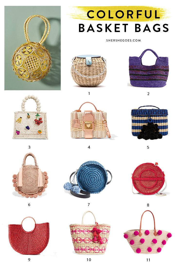 Basket Bags for Summer