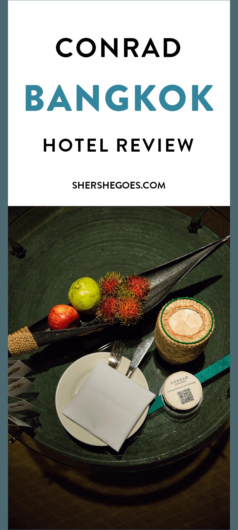 Conrad Bangkok Hotel Review shershegoes.com