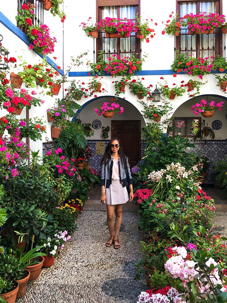 Cordoba Patio Festival Flower Courtyard