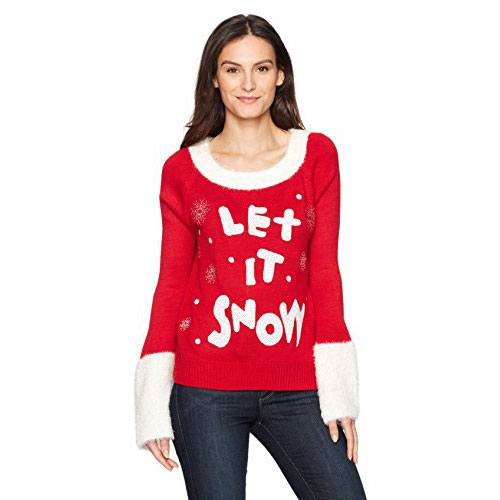 Cute Ugly Christmas Sweater with Snow