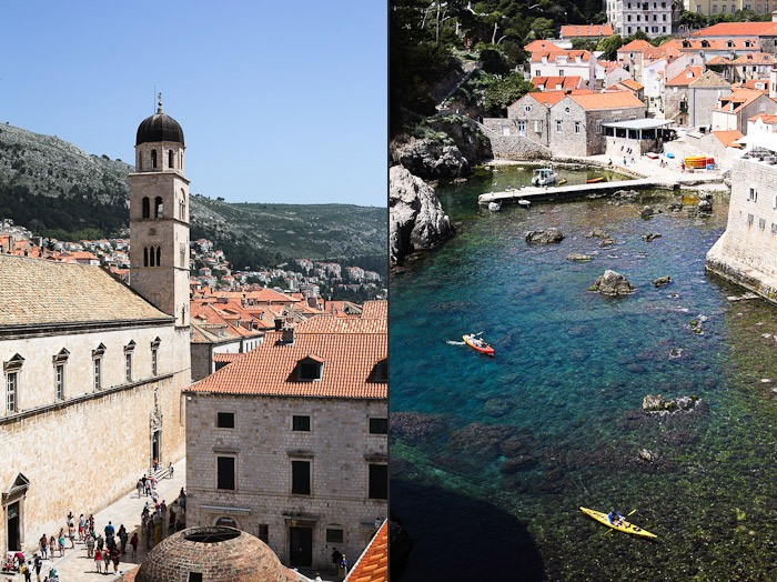 Eastern Europe Travel Tourist Beach Waves Water Summer Ocean Architecture Kayak