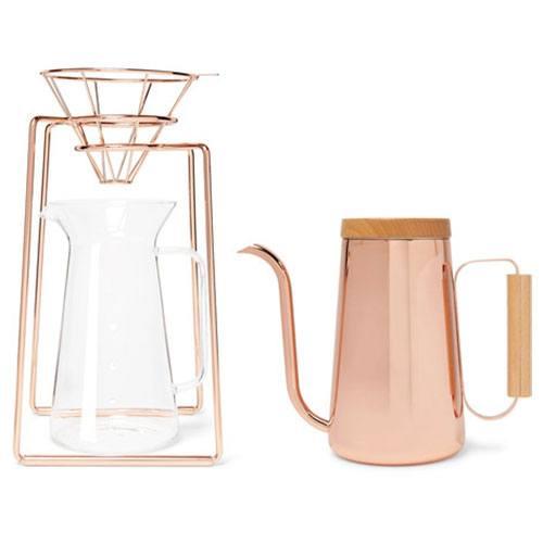Elegant-Housewarming Gift Ideas Copper Coffee Maker System