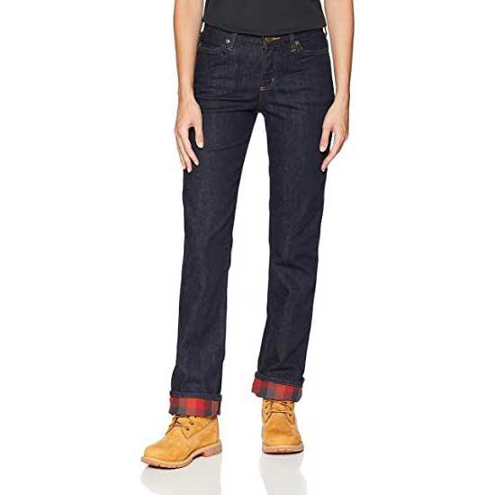 Fleece-Lined-Jeans-Womens-Carhartt