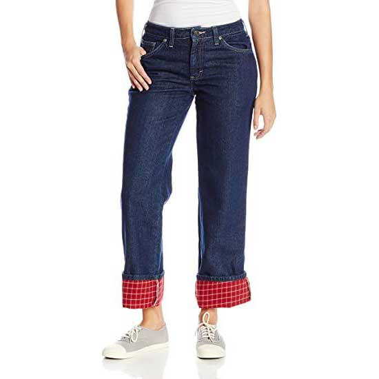 Fleece-Lined-Jeans-Womens-Dickies