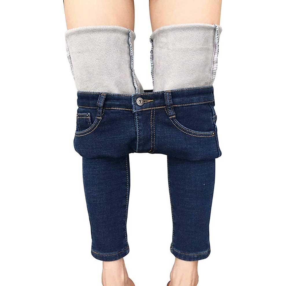 Fleece-Lined-Jeans-Womens-Heipeiwa
