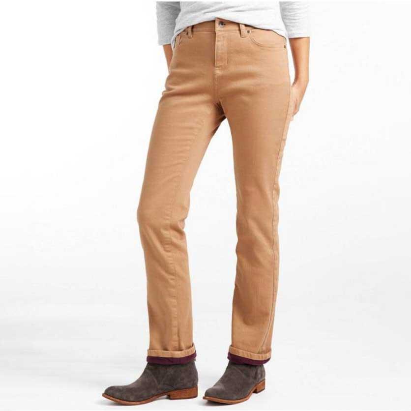 Fleece-Lined-Jeans-Womens-LL-Bean