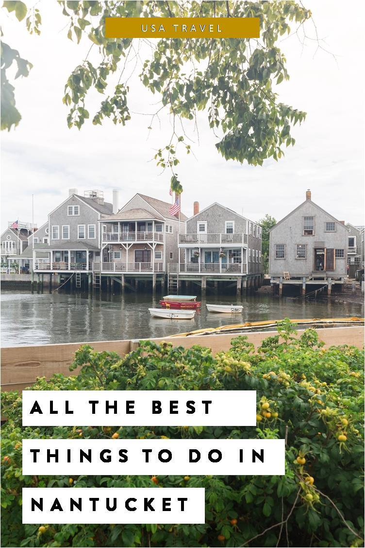 Fun things to do in Nantucket Massachusetts