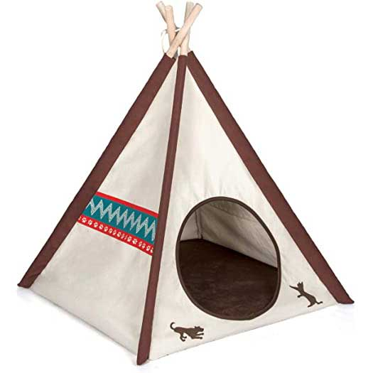 Gifts-for-Dog-Lovers-Teepee-Tent
