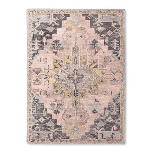 Good Christmas Gift for Older Women Pink Wool Area Rug