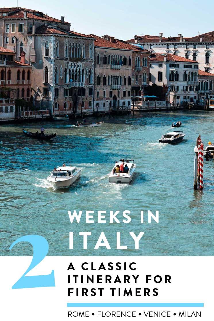 Italy-Itinerary