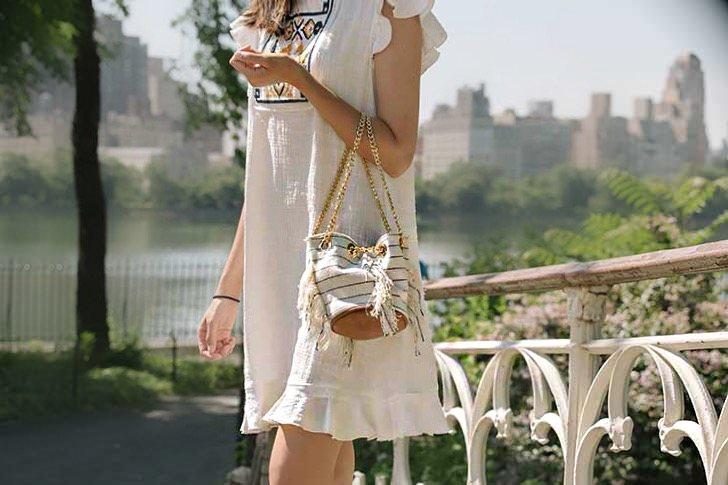 Macys Max Studio Linen Shift Dress New York Central Park