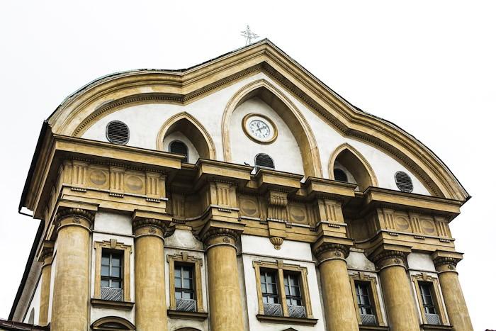 Eastern Europe Travel Tourist City Architecture Yellow