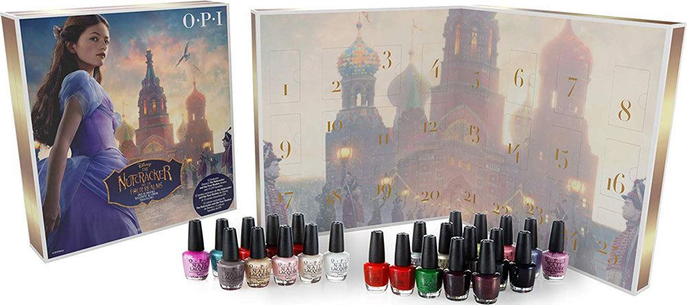 OPI nutcracker advent calendar