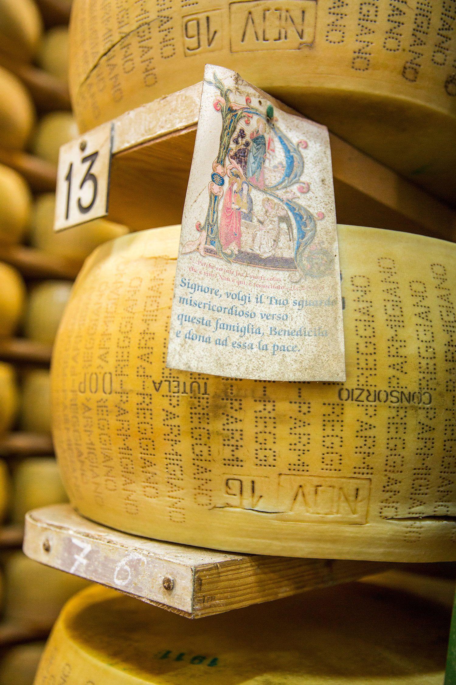 Parmigiano Factory in Parma Italy
