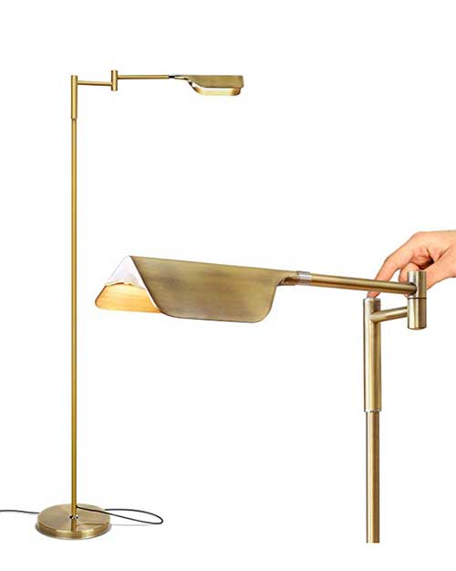 Pharmacy Style LED floor Lamp on amazon