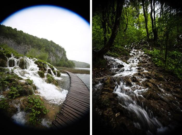 Eastern Europe Croatia Tourist Travel Hiking Hike Trail Waterfall Scenic