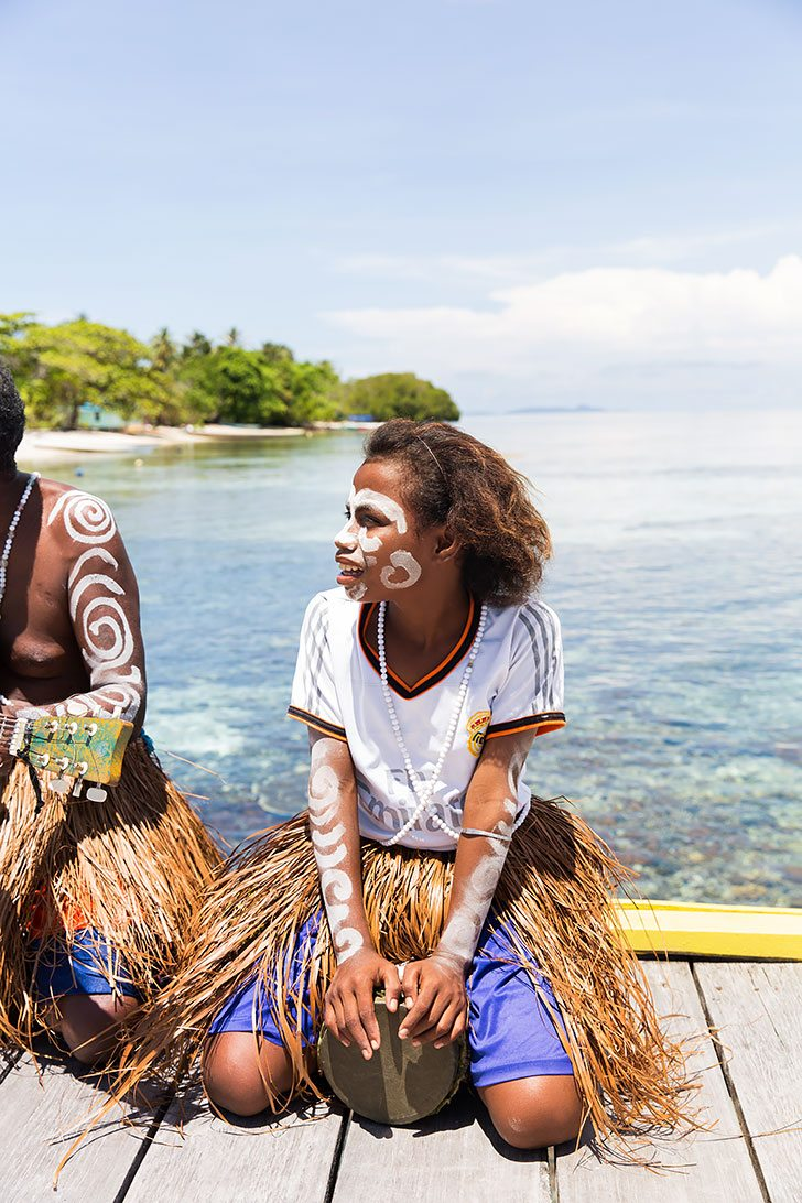 the people of raja ampat indonesia