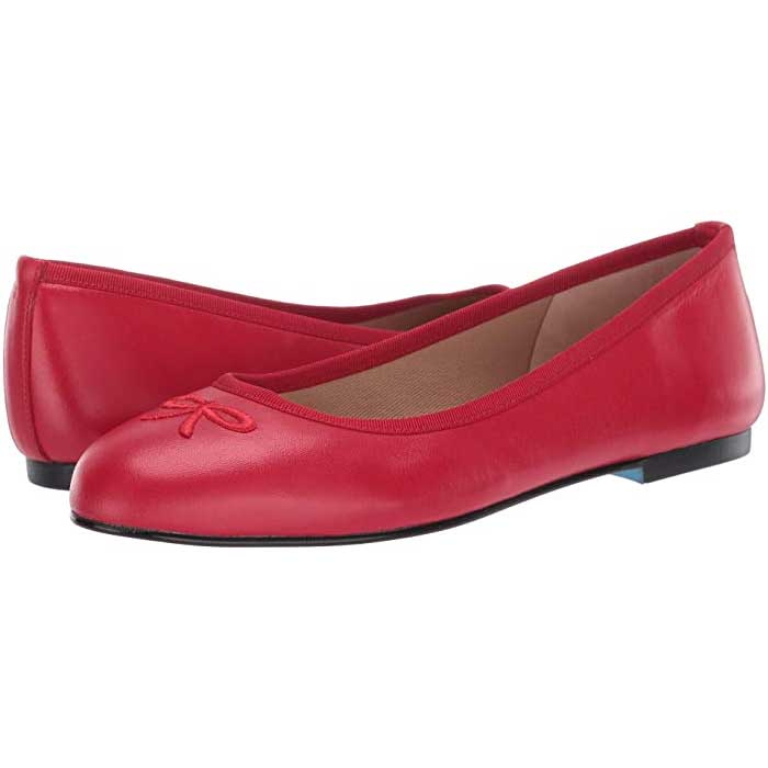 Red-Ballet-Flats-French-Sole