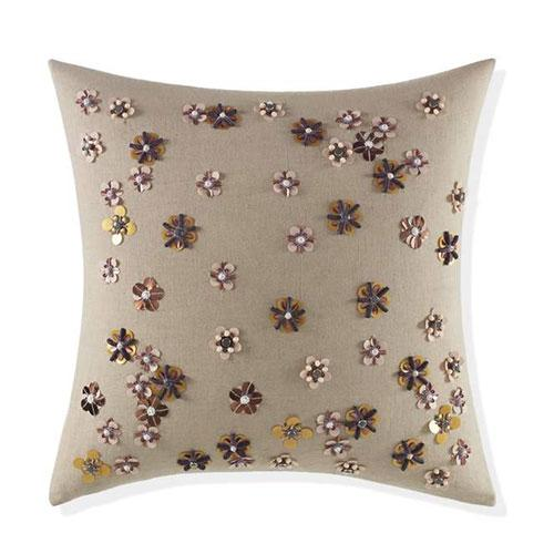 Stylish Home Decor Gift Accent Pillow with Embroidery