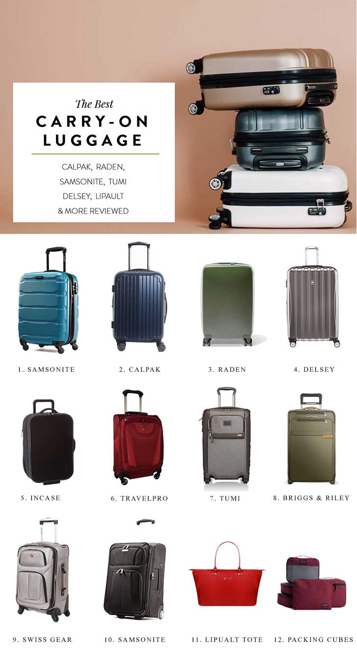 The Best Carry-On Luggage 2017 (As Tested By A Frequent Flier ...